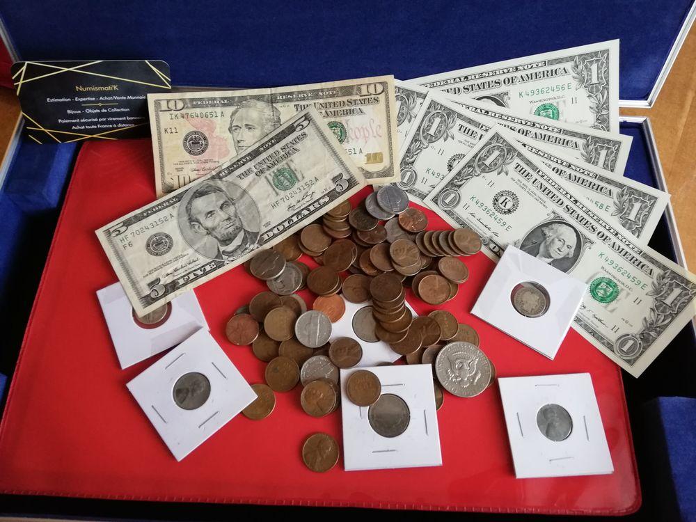 Lot de monnaie Américaine 0 Bourges (18)