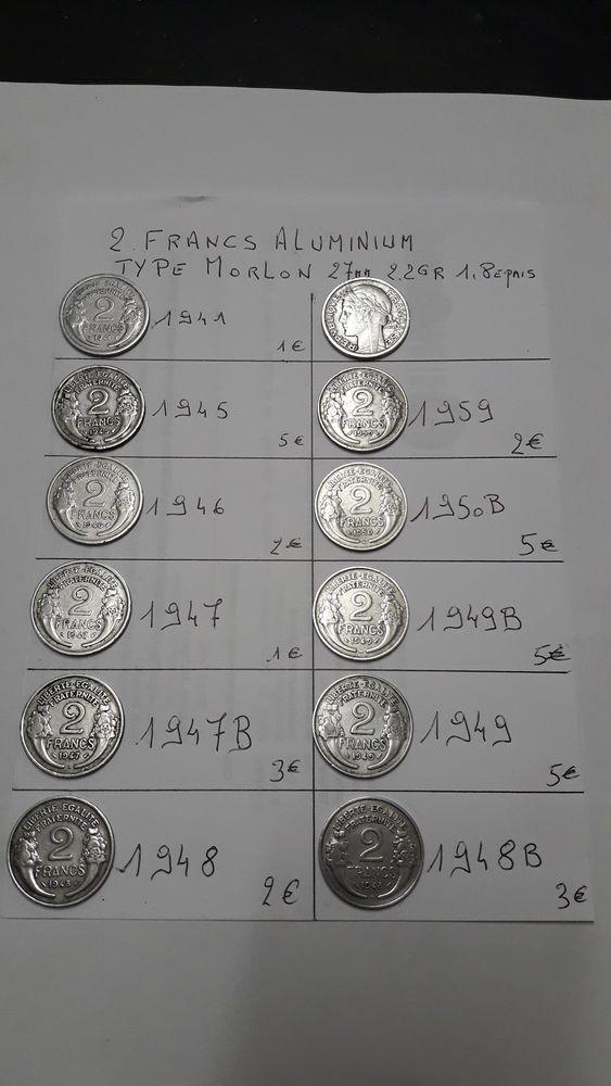 monnaie ancienne 2 Haillicourt (62)