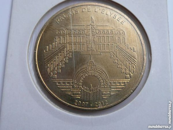 Monnaie de Paris 2010 Palais de L'Élysée Paris 75 16 Bordeaux (33)