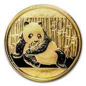 Monnaie or Pièce Panda 140 Ch�teauroux (36)