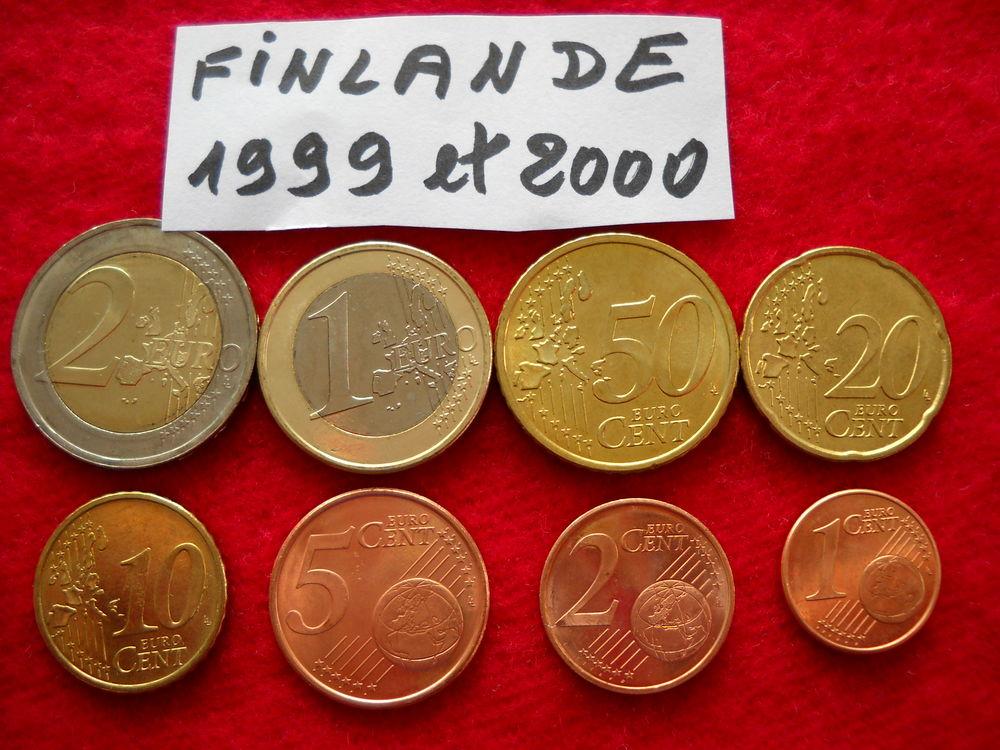 Monnaie pièces euros - FINLANDE / 1999 / 2000 23 € 23 Roanne (42)