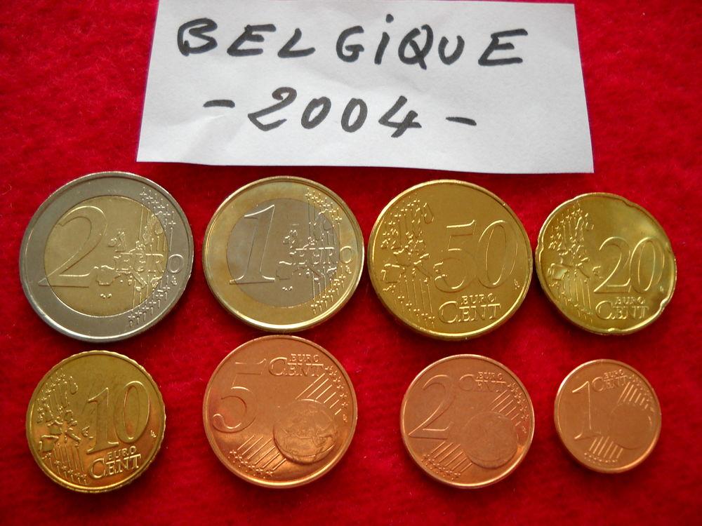 Monnaie pièces euros : BELGIQUE / 2004 12 € 12 Roanne (42)