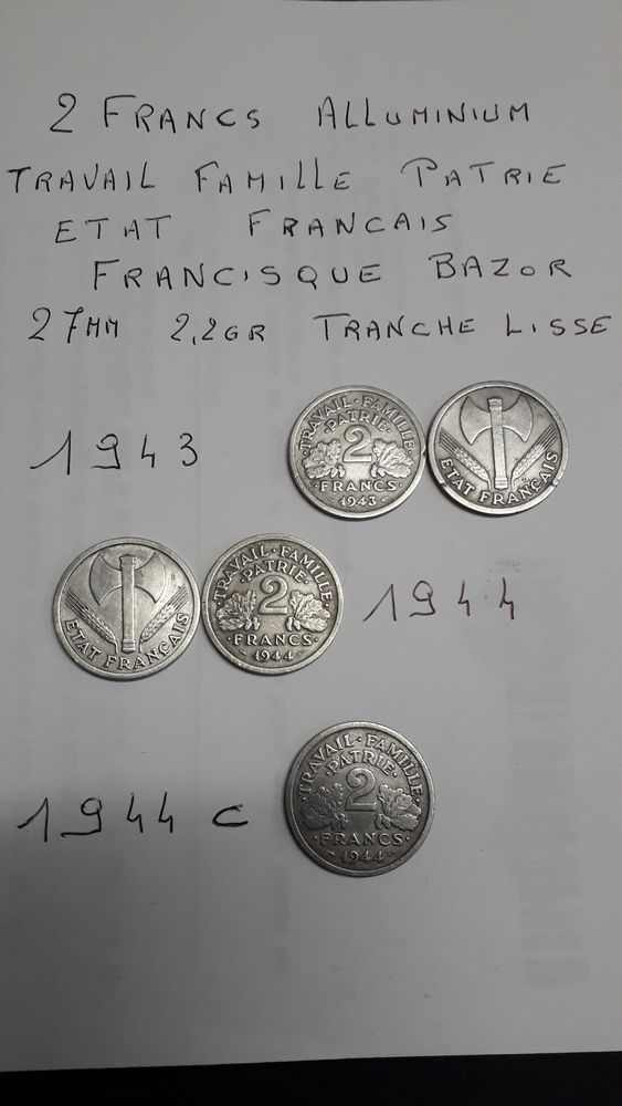 monnaies anciennes 2 Haillicourt (62)