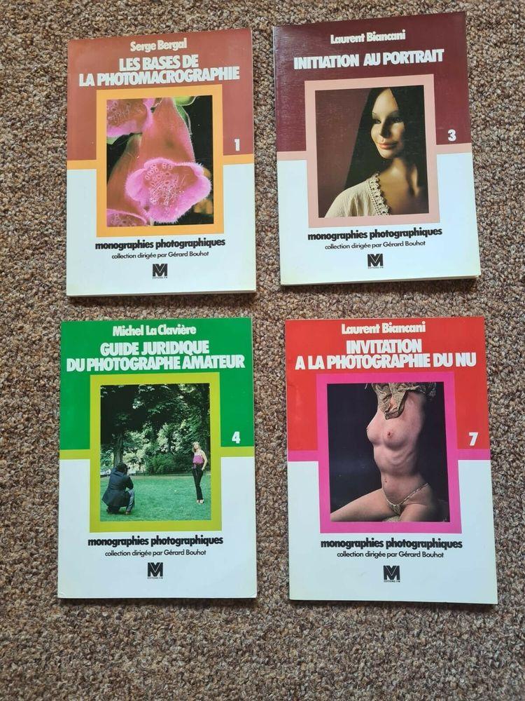 Monographies photographiques N° 1, 3, 4, 7. Collection de Gé 40 Lyon 5 (69)