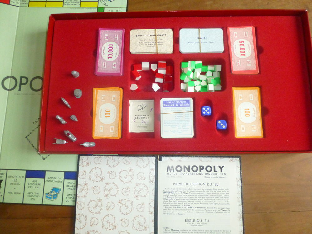 MONOPOLY ANNEES 60 60 Poitiers (86)