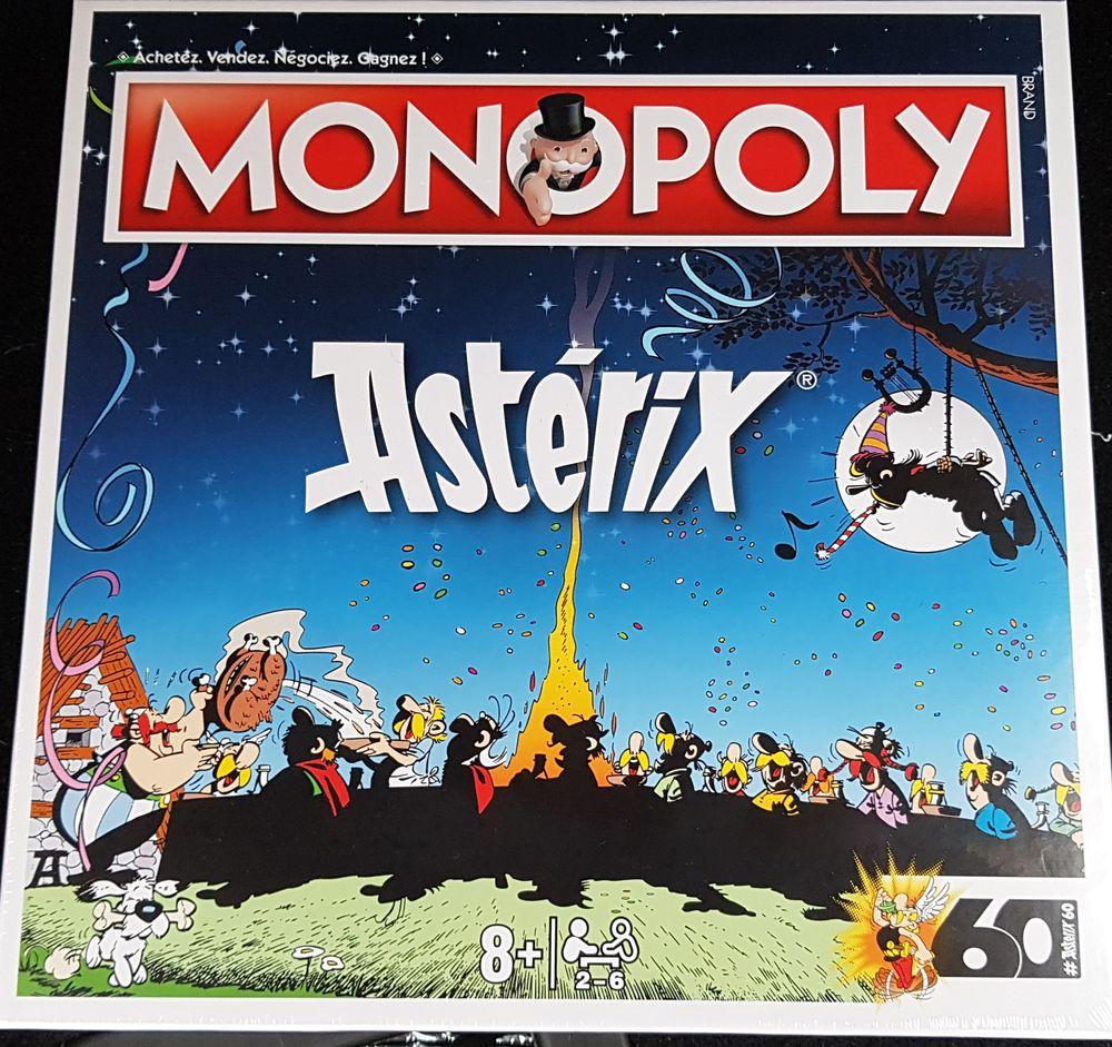 Jeu Monopoly édité pour les 60 ans d'Astérix. 45 Châteauneuf (42)