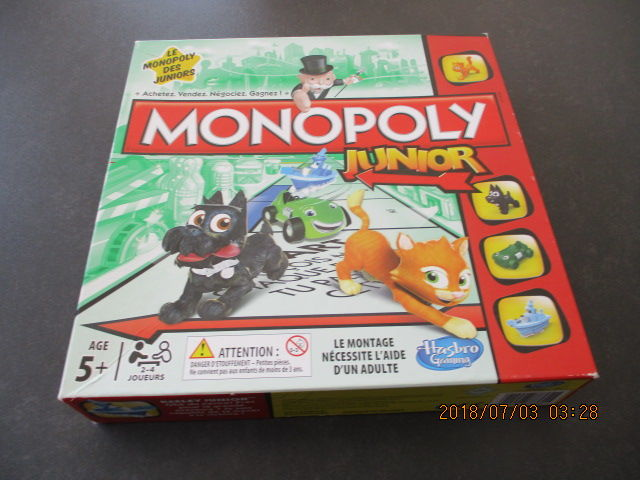 Monopoly Junior 20 Castres (81)