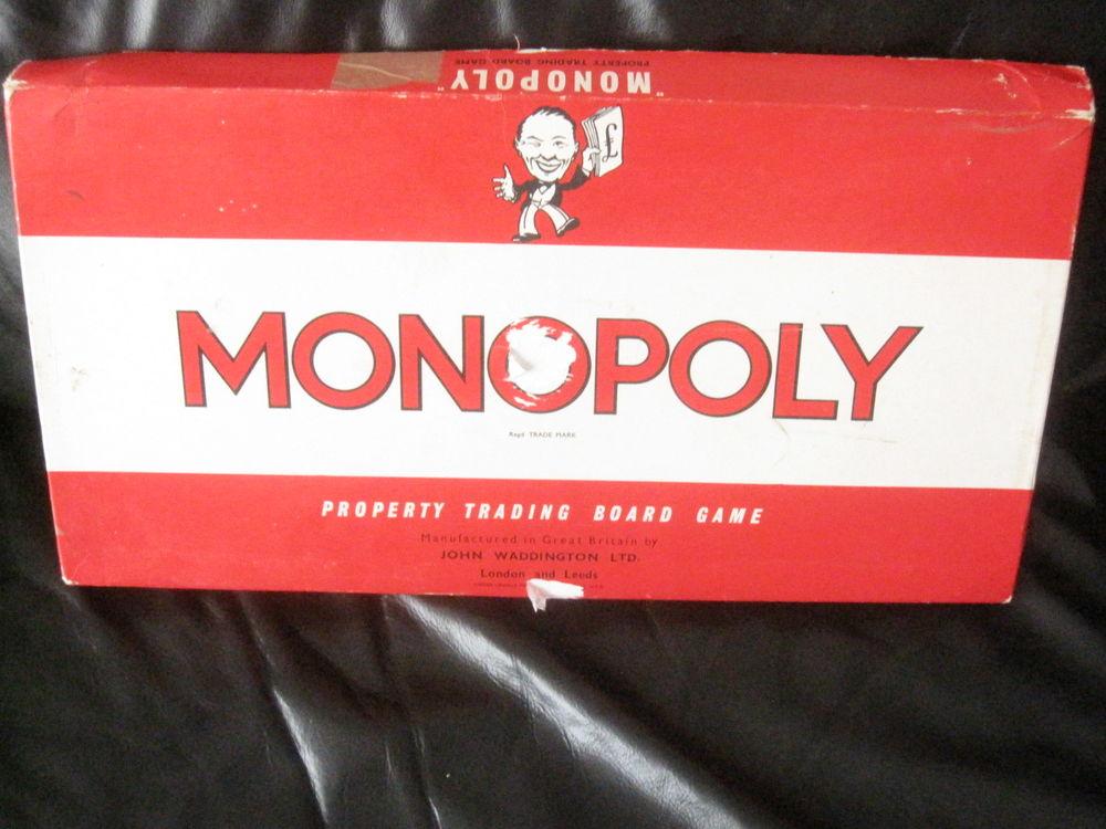 Monopoly vintage london 1961 30 Saint-Jean-Pla-de-Corts (66)