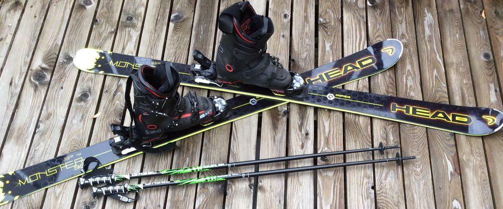 Ski Monster 98  servi 2jours 350 Sainte-Hélène-sur-Isère (73)