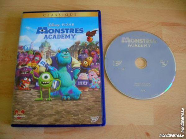 DVD MONSTRES ACADEMY - Walt Disney 8 Nantes (44)
