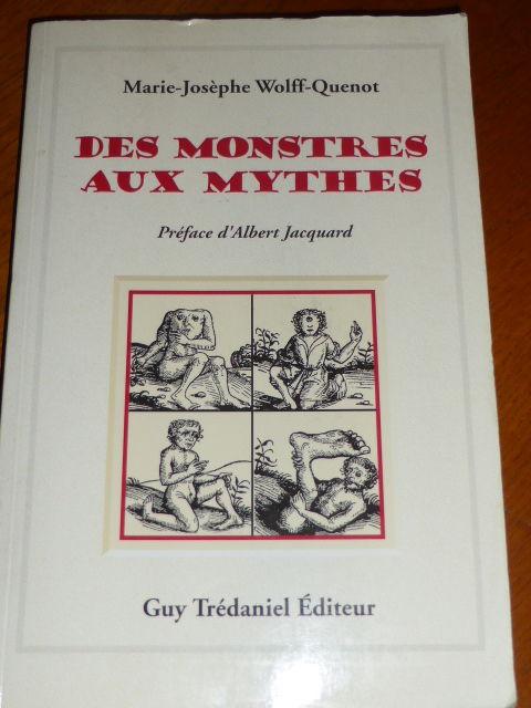 Des monstres aux Mythes Wolff-Quenot 5 Rueil-Malmaison (92)
