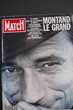 MONTAND Le grand - Paris Match - 1991