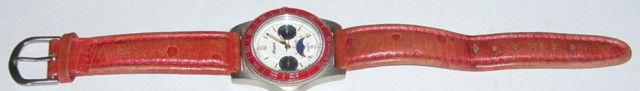 Montre bracelet cuir ONYX Quartz tachimetre 400 12 Versailles (78)