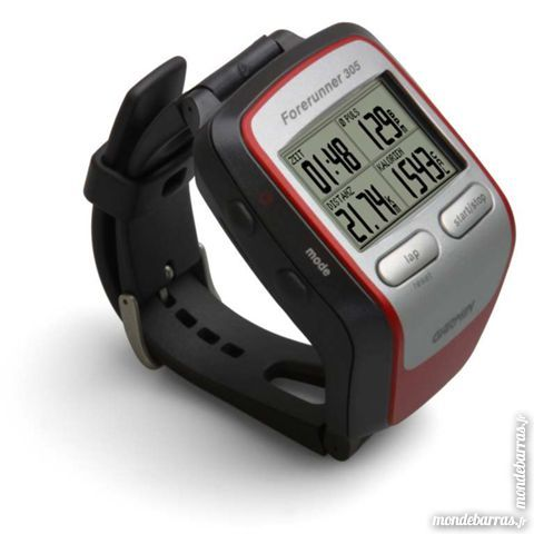 garmin forerunner 305 montre gps occasion. Black Bedroom Furniture Sets. Home Design Ideas