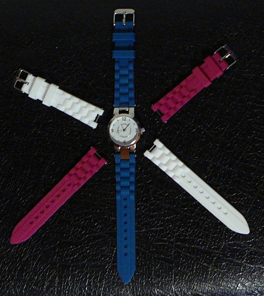 Montre femme avec bracelets interchangeables, NEUVE 7 Lens (62)