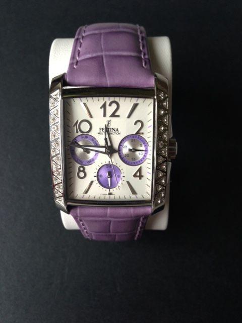 Montre FESTINA Femme - bracelet cuir violet - neuve 50 Carling (57)