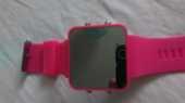 montre mode effet miroir rose 10 Rosendael (59)