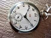 CB montre de poche gousset vers 1900 GOC1024 90 Metz (57)