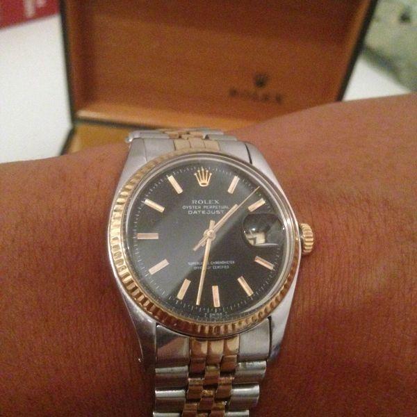 fdc090ff408 MONTRE ROLEX DATEJUST EN OR ET ACIER Bijoux et montres