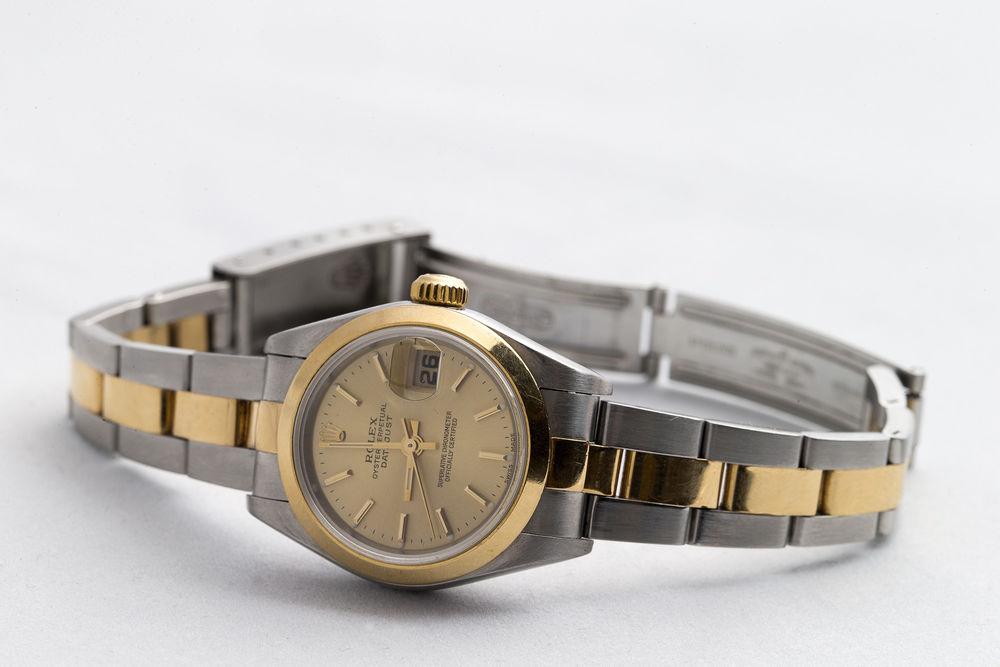 3dd2762f641 Montre ROLEX Oyster Perpetual Datejust Or et Acier Bijoux et montres