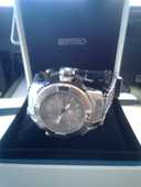 Montre Seiko sport étanche avec chronographe 150 Agay (83)