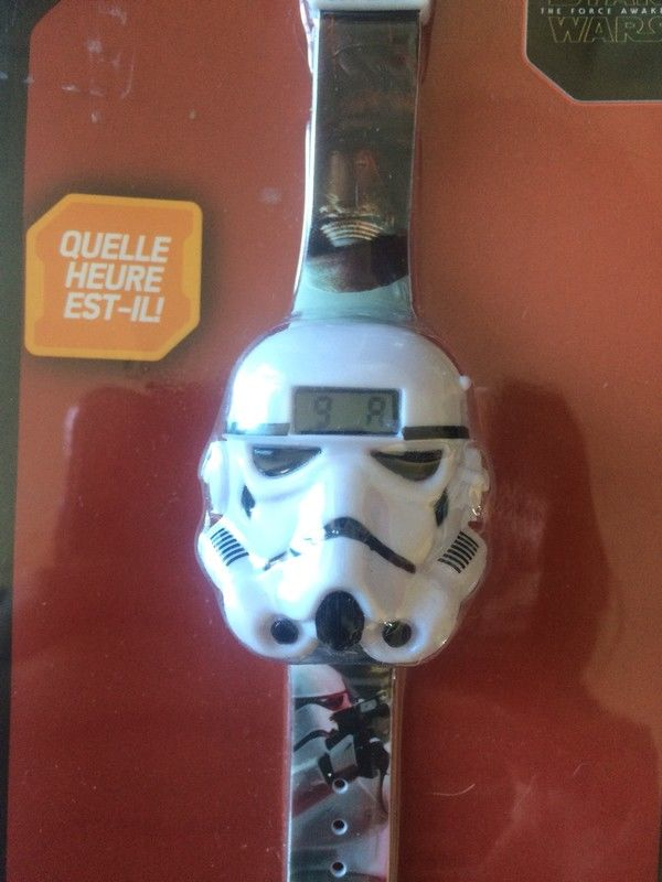 Montre 3D Star Wars stormtrooper neuve 15 Ambillou-Château (49)