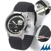 Montre swiss made Eric Tabarly Ouessant 2 fuseaux horaires 100 Oyonnax (01)