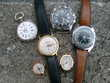 6 montres anciennes
