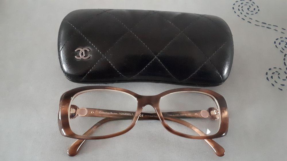 Montures lunettes de vue CHANEL ORIGINAL avec étui cuir Bijoux et montres