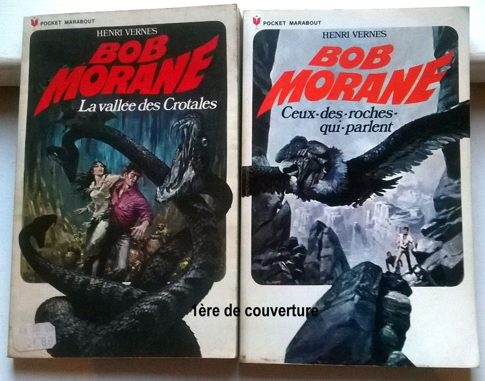 Bob Morane éditions 1971-1972 1 Roncq (59)