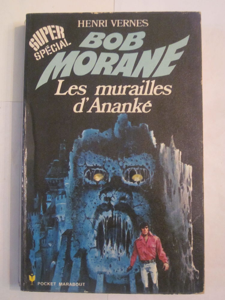 BOB MORANE  - LES MURAILLES D' ANANKE 18 Brest (29)