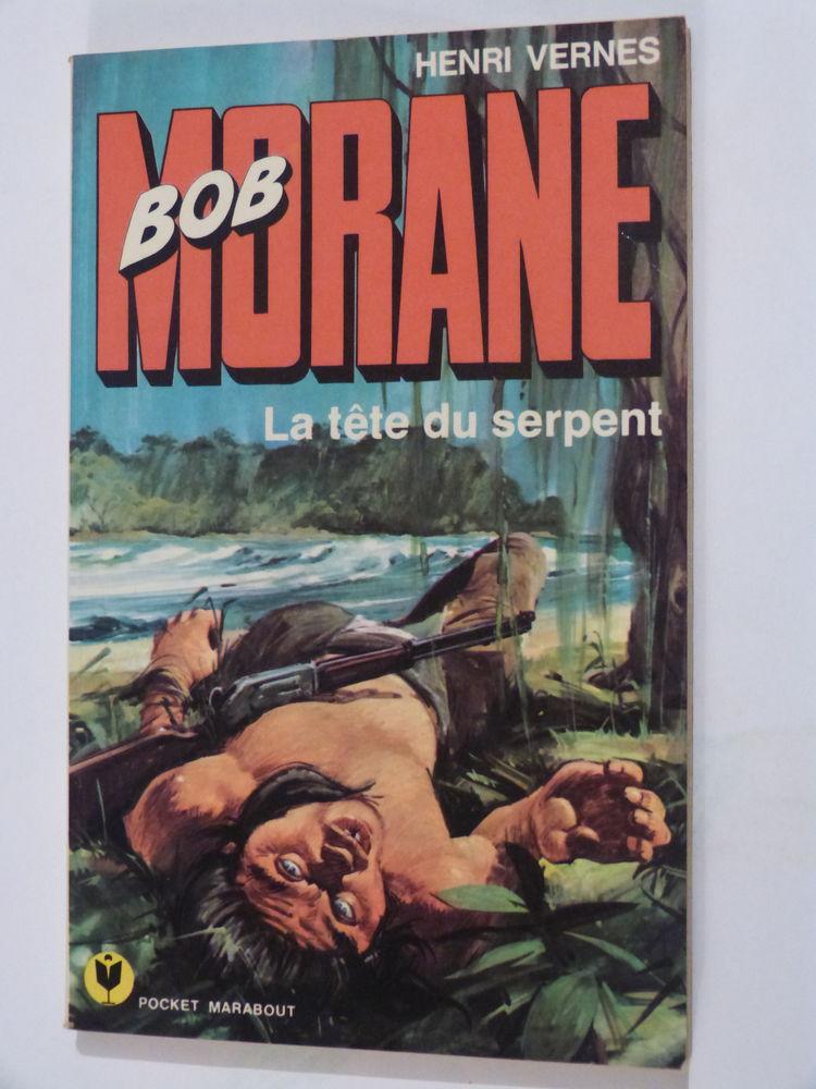 BOB MORANE  -  LA TETE DU SERPENT  15 Brest (29)