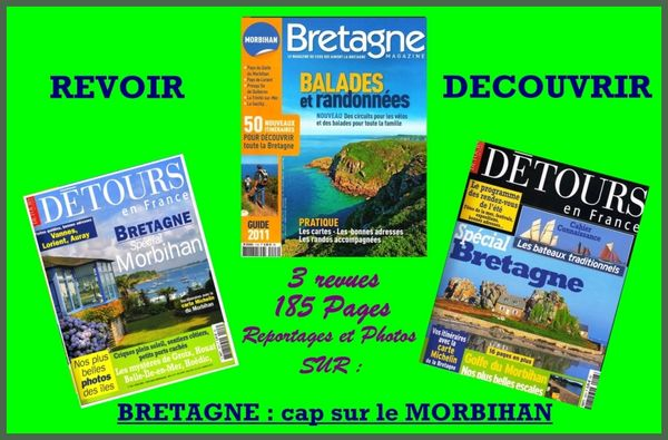 LE MORBIHAN - BRETAGNE / prixportcompris  14 Lille (59)