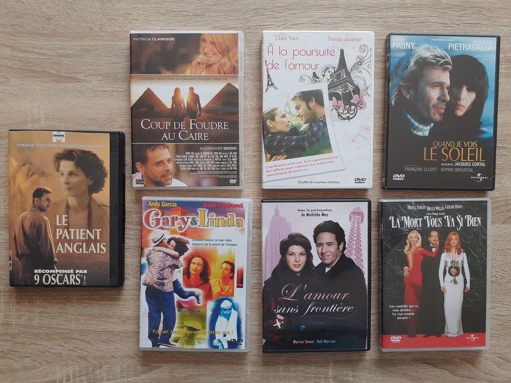 5 DVD   La Mort te va si bien   , etc ....  5 Le Vernois (39)
