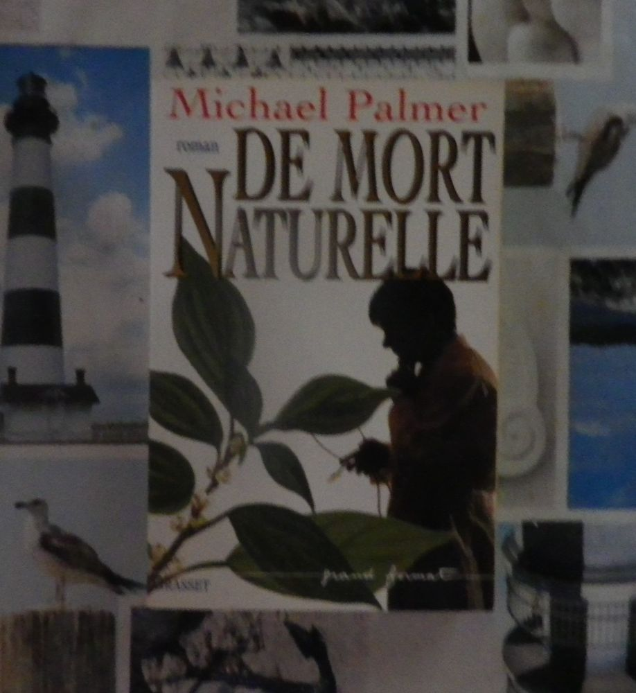 DE MORT NATURELLE de Michael PALMER Ed. Grasset 4 Bubry (56)