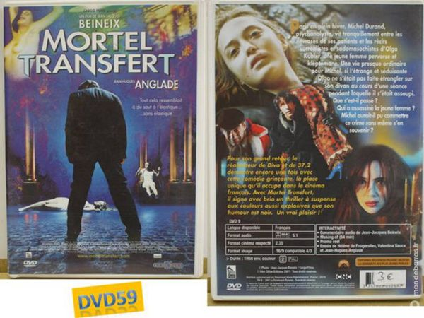 DVD: MORTEL TRANSFERT DE jEAN jACQUES bENEIX 7 Mons-en-Barœul (59)