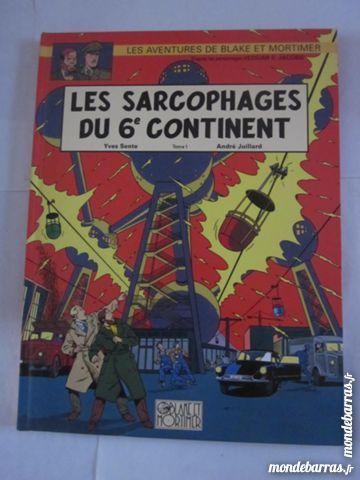 BD B.et MORTIMER LES SARCOPHAGES DU 6è CONTINENT 13 Brest (29)
