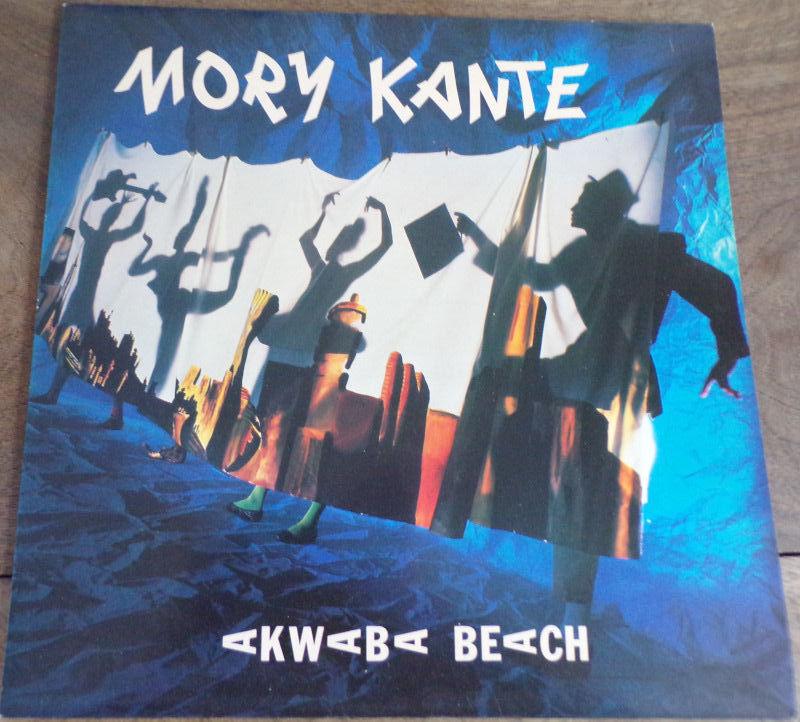 Mory Kante Akwaba beach barclay 1987 disque vinyle 33 tours 8 Laval (53)