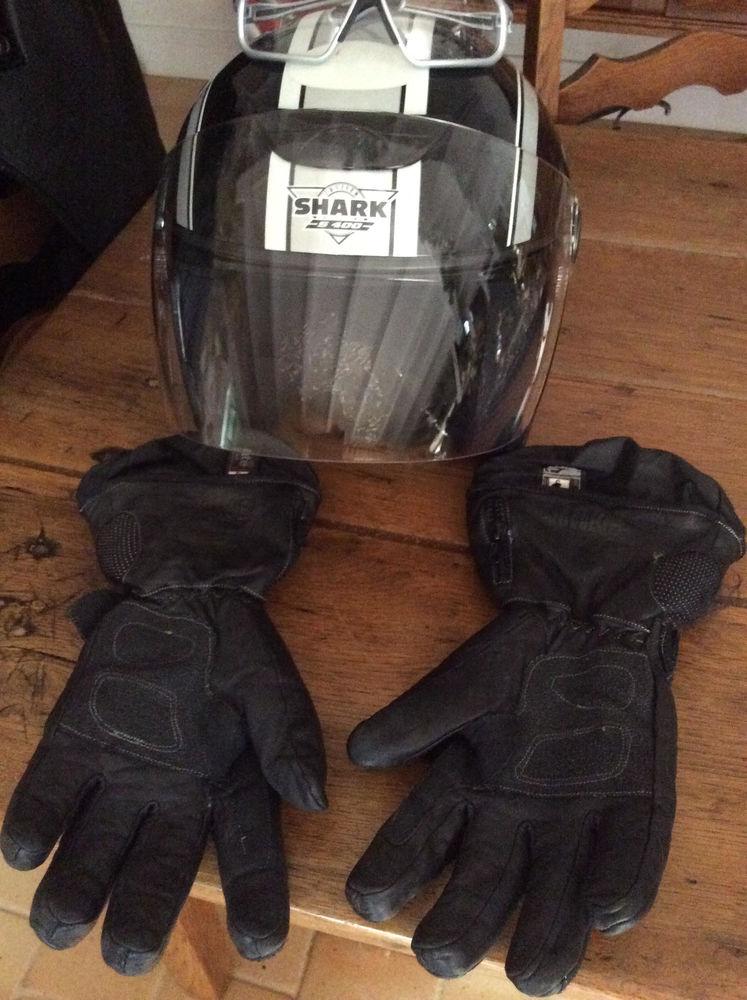 Moto : Casque, gants, lunettes, blouson Homme 150 Soyaux (16)