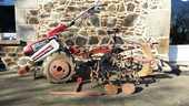 Motoculteur HONDA F660 1900 Pl�lo (22)
