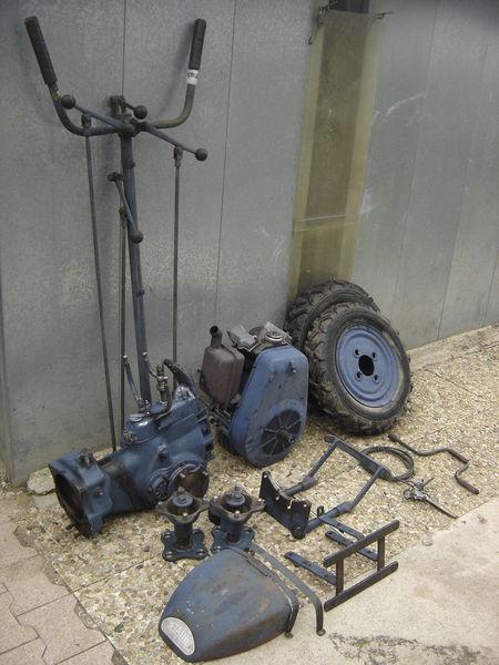motoculteur PP3B pour pièces Bricolage