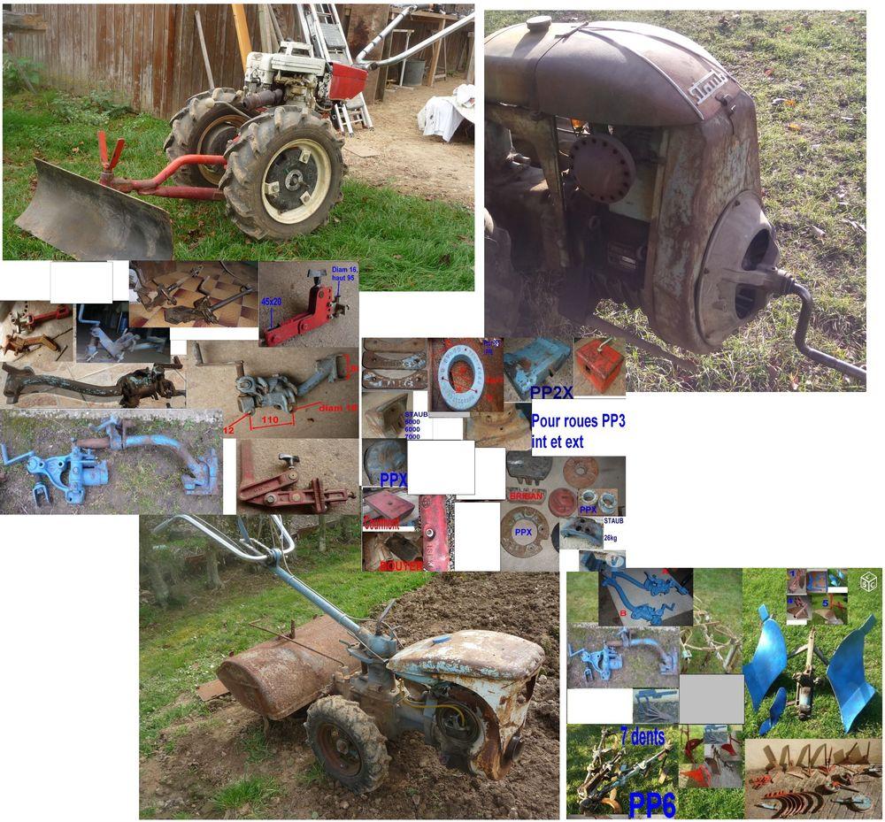 Motoculteurs, motobineuses, outils et accessoires Jardin