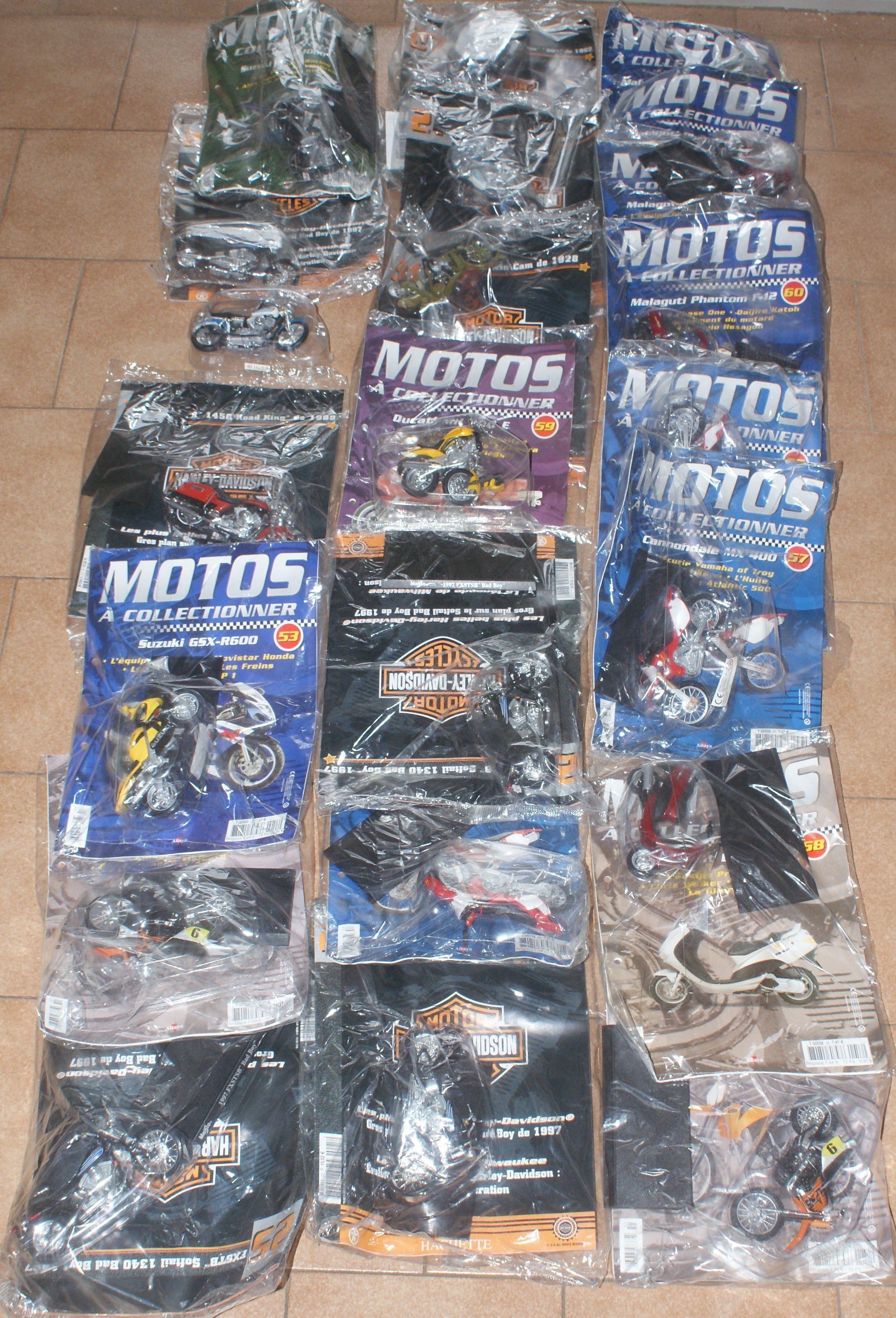 22 motos de collection 66 Montcy-Notre-Dame (08)