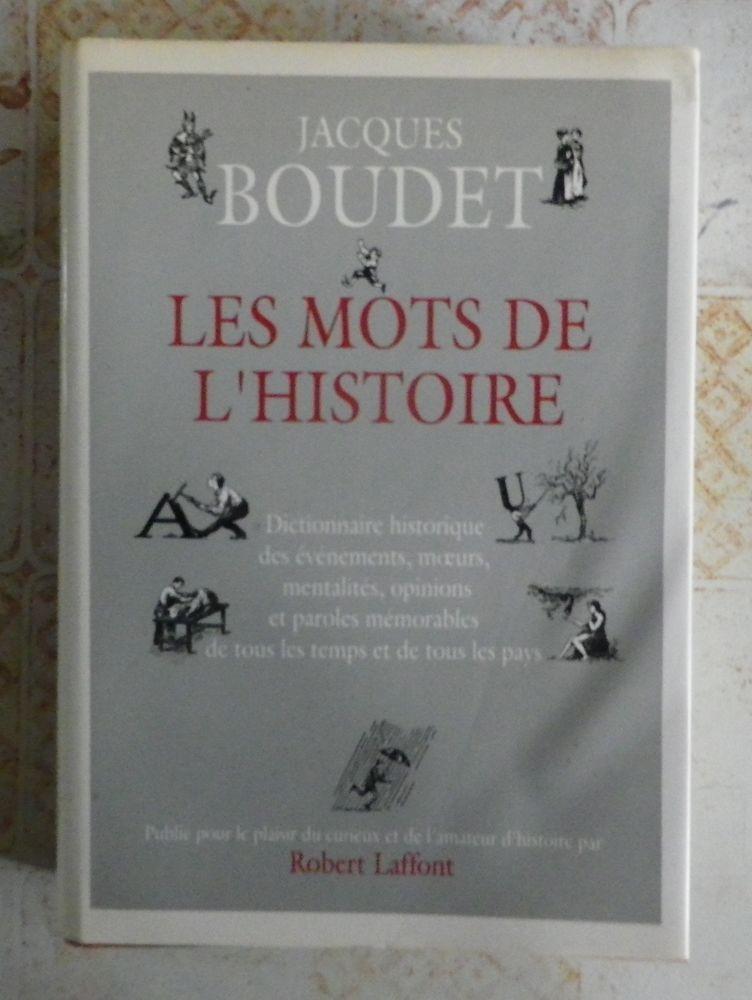LES MOTS DE L'HISTOIRE J. BOUDET 10 Attainville (95)