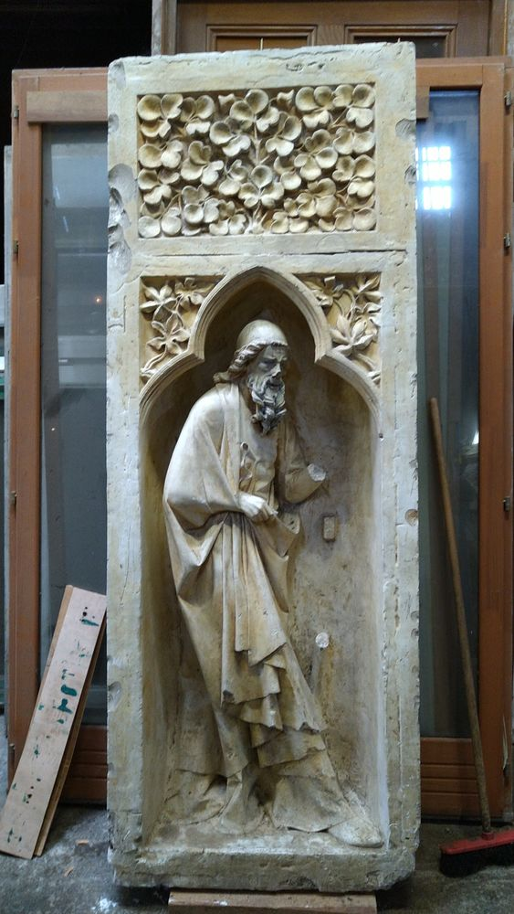 Moulage de façade de Cathédrale - Homme 2500 Maisons-Alfort (94)