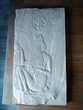 Moulage du musée du Louvre. Égypte, bas relief. Décoration