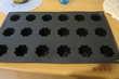 Moules 18 cannelés silicone, état neuf