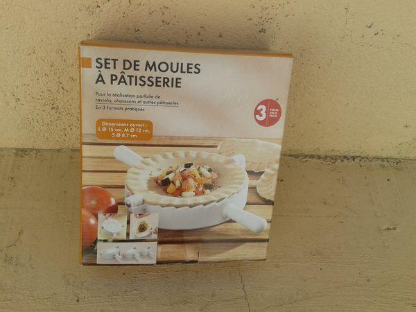 Set moules pâtisserie 5 Perpignan (66)
