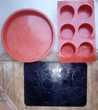 4 moules et 2 tapis à patisserie en silicone Beauchamp (95)