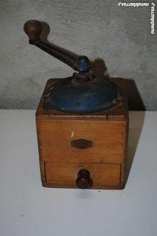 moulin à café ancien ORGO en bois 28 Blaye-les-Mines (81)